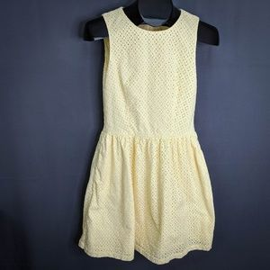 French Connection Dress Size 4 Yellow Womens